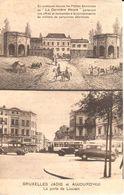 Bruxelles - CPA - Brussel - Bruxelles Jadis Et Aujourd'hui - La Porte De Louvain - Places, Squares