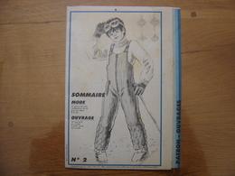 Patron Patroon COMBINAISON DE SKI 1985 Femmes D'aujourd'hui 2 MODE Vintage - Patrons