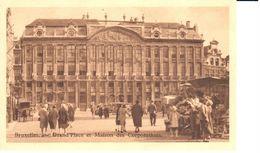 Bruxelles - CPA - Brussel - Bruxelles Jadis Et Aujourd'hui - Grand'Place Et Maison Des Corporations - Places, Squares