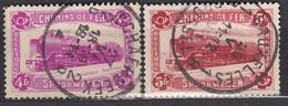 BELGIEN Postpaket 1934 -  MiNr: 9+10  Used - Bahnwesen