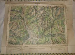 Guillestre. 1933 - Cartes Topographiques