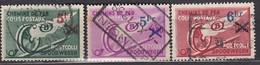 BELGIEN Postpaket 1938 -  MiNr: 11-13 Komplett  Used - Bahnwesen