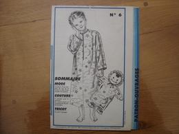 Patron Patroon CHEMISE DE NUIT POUPEE SAC PYJAMA 1985 Femmes D'aujourd'hui 6 MODE Vintage - Patrons