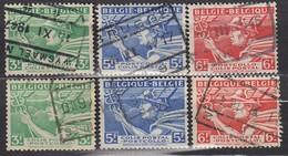 BELGIEN Postpaket 1945 -  MiNr: 15-17 I+II Komplett  Used - Bahnwesen