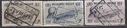 BELGIEN Postpaket 1947 -  MiNr: 21-23 Komplett  Used - Bahnwesen