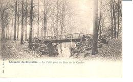 Bruxelles - CPA - Brussel - Le Petit Pont Du Bois De La Cambre - Bossen, Parken, Tuinen