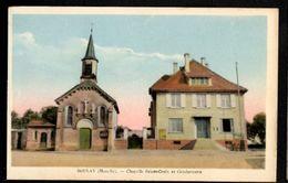 BOULAY  (Moselle)  Châpelle Sainte Croix Et Gendarmerie - Boulay Moselle
