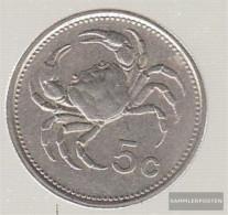 Malta Km-number. : 77 1986 Stgl./unzirkuliert Copper-Nickel Stgl./unzirkuliert 1986 5 Cent Emblem - Malta