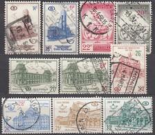 BELGIEN Postpaket 1954 -  MiNr: 41-61  10x  Used - Bahnwesen