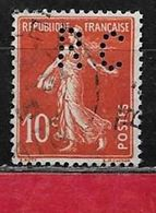 @ Perfin Y.T N° 138  Perfore  RC 14-5   Indice 5 - Perforés