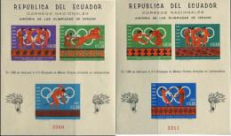 Ref. 16008 * NEW *  - ECUADOR . 1966. GAMES OF THE XIX OLYMPIAD. MEXICO 1968. 19 JUEGOS OLIMPICOS VERANO MEXICO 1968 - Ecuador