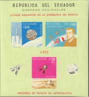 Ref. 576906 * NEW *  - ECUADOR . 1966. ULTIMOS ADELANTOS E LA CONQUISTA DEL ESPACIO - Ecuador