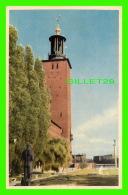 SUÈDE - STADSHUSET, PARKEN - CIRCULÉE EN 1951 -  FORLAG, TOR WINHOLM - ULTRA - - Suède