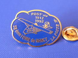 Pin's La Poste PTT - Post'Air 1912 1992 - 58ème Foire De Nancy - France Télécom (QC40) - Mail Services
