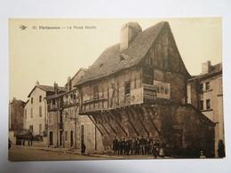 C.P.A. 24 PERIGUEUX : Le Vieux Moulin, Animé, Publicité Michelin - Périgueux