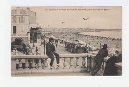 Vue Générale De La Plage Des Sables D'Olonnes, Prise Du Palais De Justice. Avec Tramway. (2640) - Sables D'Olonne