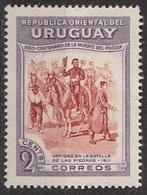 Uruguay 1952 Sc. 588 Generale Artigas Batalla De Las Piedras Nuovo - Uruguay