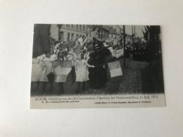 Boom   Inhaling Van Den H Gouverneur - Opening Der Tentoonstelling 14 Aug 1913 N° 3 De Voorbij Tocht - Boom