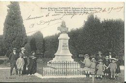 Statue D'Agrippa D'Aubigné, Seigneur De Bry Sous Archiac - Pons