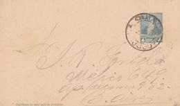 Argentinien Ganzsache 4 C. Gest. - Ansehen!! - Postal Stationery