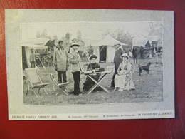 CPA - EN ROUTE POUR LE ZAMBEZE -  1878 - Mr & Mlle COILLARD - Mr JEANMAIRET - Zambie