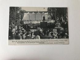 Boom   Inhaling Van Den H Gouverneur - Opening Der Tentoonstelling 14 Aug 1913 N° 7 Het Kinderkoor - Boom
