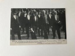Boom   Inhaling Van Den H Gouverneur - Opening Der Tentoonstelling 14 Aug 1913 N° 8 Het Komiteit - Boom
