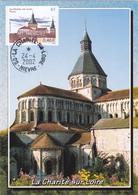 Carte-Maximum FRANCE N° Yvert 3478 (LA CHARITE SUR LOIRE) Obl Ord 2002 (Ed Nivernaises 11145) - Maximumkarten