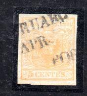 ASI1a - LOMBARDO VENETO , Il 5 Cent N. 1 Usato. SPL - Lombardo-Veneto