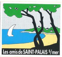 PUBLICITE AUTOCOLLANT LES AMIS DE SAINT PALAIS SUR MER - Stickers