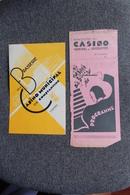 ALGERIE ,CONSTANTINE - 30 Mars 1938 - Concert à La Brasserie Du Casino Municipal Avec Programme. - Documents Historiques