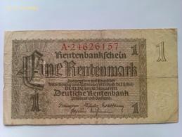Billete Alemania. 1 Marco. 1937. III Reich. - [ 4] 1933-1945 : Third Reich