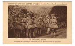 REPUBLIQUE CENTRAFRICAINE - Expédition Citroën, Indigènes De L'Oubangui... - Centraal-Afrikaanse Republiek