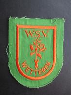 ECUSSON TISSUS (M1808) WETTEREN (1 Vue) W.S.V. - Sports