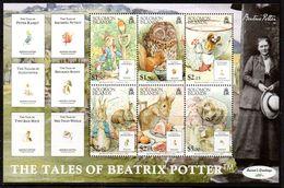 Solomon Islands 2006 Tales Of Beatrix Potter MS, MNH, SG 1222 (B) - Solomon Islands (1978-...)