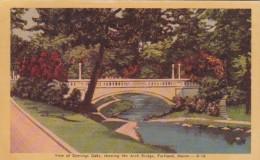 Maine Portland Arch Bridge At Deering Oaks Dexter Press - Portland