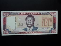LIBÉRIA : 50 DOLLARS  2009   P 29d    NEUF - Liberia