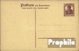 Deutsches Reich P118 Amtliche Postkarte Ungebraucht Mi.-Nr.: P118 Amtliche Postkarte - Stamped Stationery