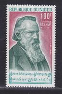 NIGER AERIENS N°  180 ** MNH Neuf Sans Charnière, TB (D6571) Johannes Brahms - Niger (1960-...)