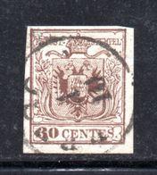 ASI5b - LOMBARDO VENETO , Il 30 Cent  Usato. - Lombardo-Veneto