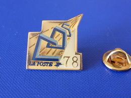 Pin's La Poste PTT - COS 78 Yvelines - France Télécom (QC51) - Mail Services