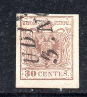 ASI5d - LOMBARDO VENETO , Il 30 Cent  Usato. - Lombardo-Veneto