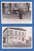 """2 Photos Ancienne Du Lt Albert Hénard Durant La 2nde Guerre - Lieu à Situer - Maison """" Major Du Cantonnement """" - WW2 - Guerre, Militaire"""