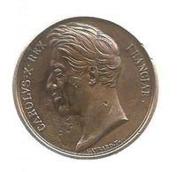 Médaille , Couronnement De Charles X , Carolus X. Rex  Franciae , Par Gayard, 1825, 2 Scans - Monarquía / Nobleza