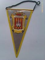 Banderín De Castellón. España. Años '60-'70 - Escudos En Tela