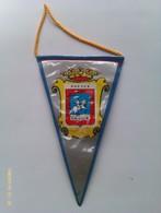 Banderín De Huesca. Aragón. España. Años '60-'70 - Escudos En Tela