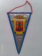 Banderín De Pont De Suert. Lérida. Cataluña. España. Años '60-'70 - Escudos En Tela