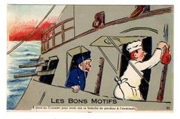 MILITARIA - Humoristiques  - Les Bons Motifs - Humorísticas