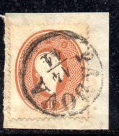 ASI9a - LOMBARDO VENETO 1861, Il 10 Soldi  Usato N. 34. - Lombardo-Veneto