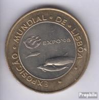 Portugal KM-Nr. : 694 1997 Stgl./unzirkuliert Bimetall Stgl./unzirkuliert 1997 200 Escudos Delphine - Portugal